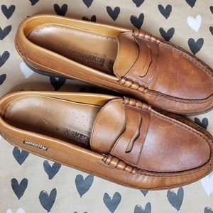 Mephisto Spinnaker Brown Loafers